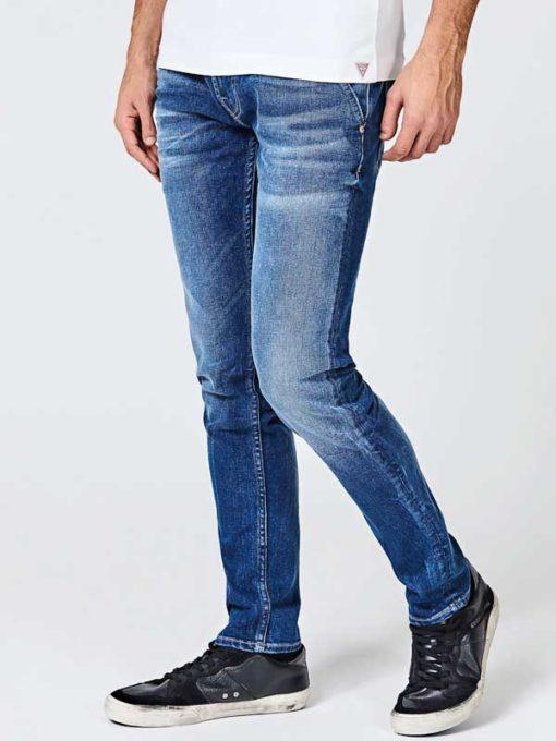 GUESS jeans chino skinny da uomo-1