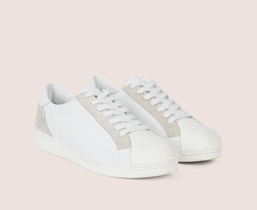 ARMANI Exchange scarpa allacciata tinta unita-1