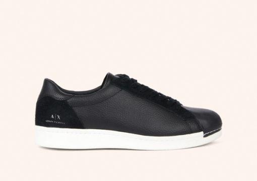ARMANI Exchange scarpa allacciata tinta unita-6