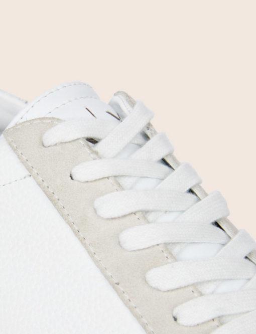ARMANI Exchange scarpa allacciata tinta unita-5