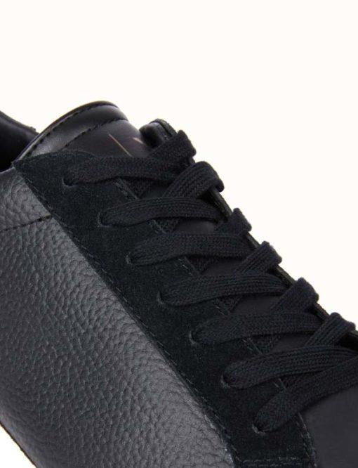 ARMANI Exchange scarpa allacciata tinta unita-4