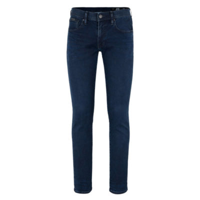 ARMANI EXCHANGE jeans blu scuro stretch gamba stretta