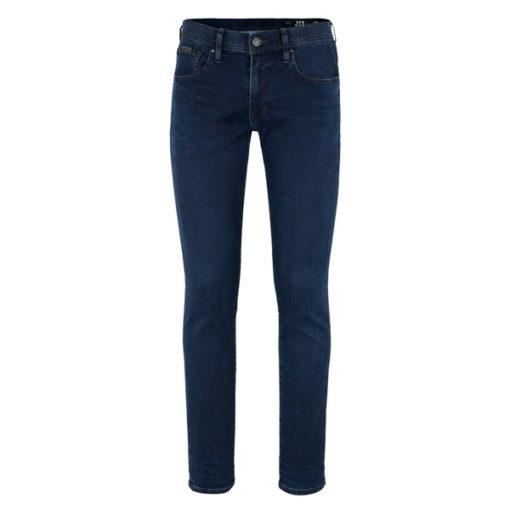 ARMANI EXCHANGE jeans blu scuro stretch gamba stretta