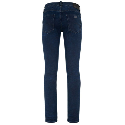 ARMANI EXCHANGE jeans blu scuro stretch gamba stretta -1