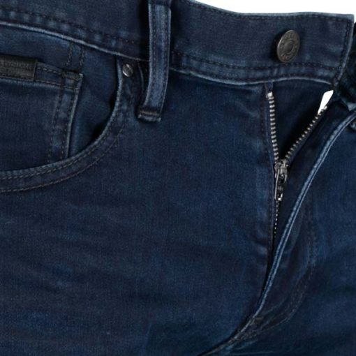 ARMANI EXCHANGE jeans blu scuro stretch gamba stretta -2