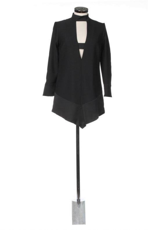 abitino corto nero Denny Rose donna -1