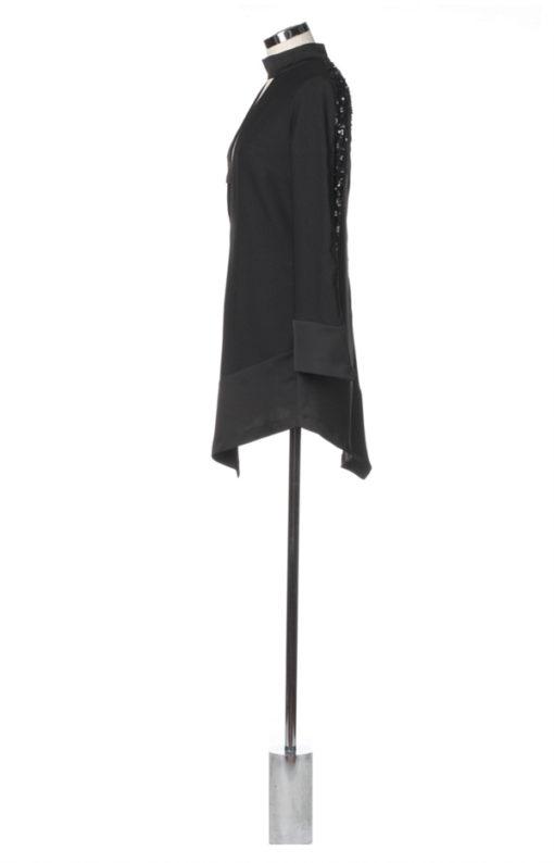abitino corto nero Denny Rose donna -2
