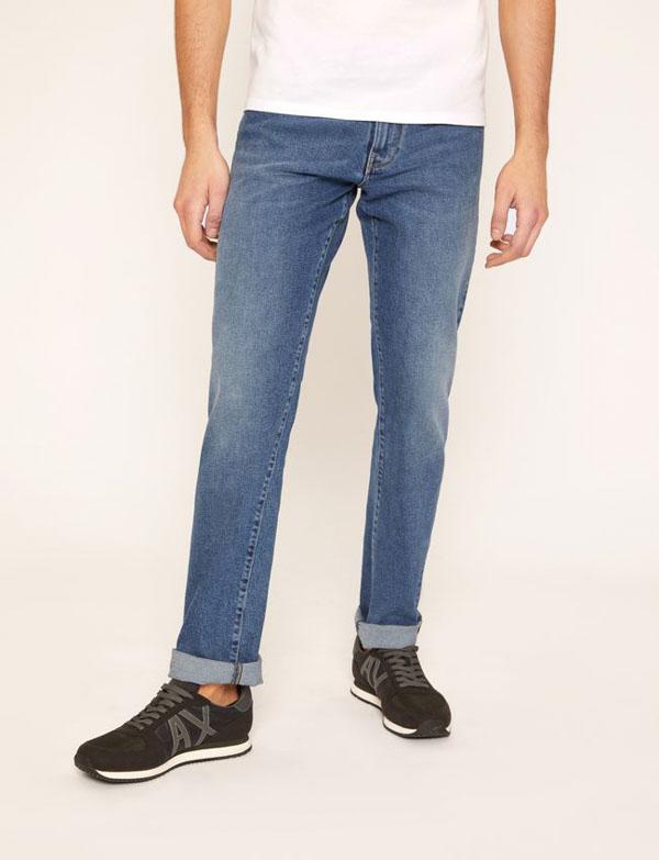 ARMANI EXCHANGE jeans j16 chiaro da uomo d16146770276