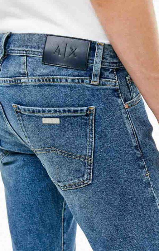 ARMANI EXCHANGE jeans j16 chiaro da uomo -3