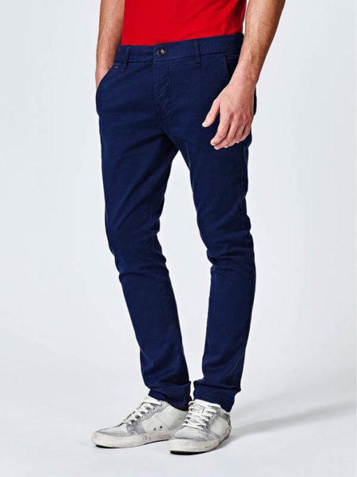 Pantalone chino Guess blu da uomo