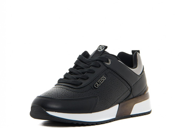huge selection of 6084d 58bc3 SNEAKERS DONNA GUESS LOGATA NERA