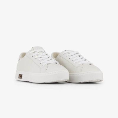 ARMANI Exchange sneakers allacciata bianca