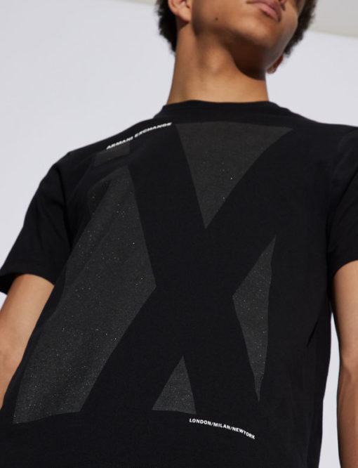 Armani Exchange nera logo A X nera-2