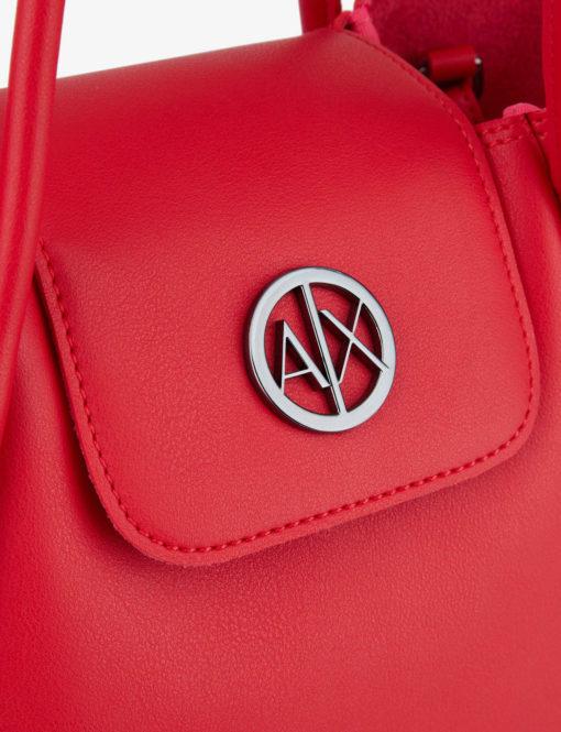 Armani-Exchange-borsa-rossa-logo-2