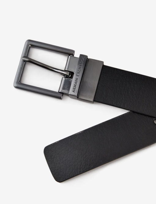 Cintura da uomo reversibile Armani Exchange-3