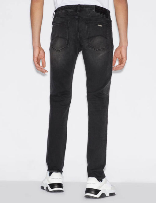 Jeans uomo nero Armani Exchange slim fit-1