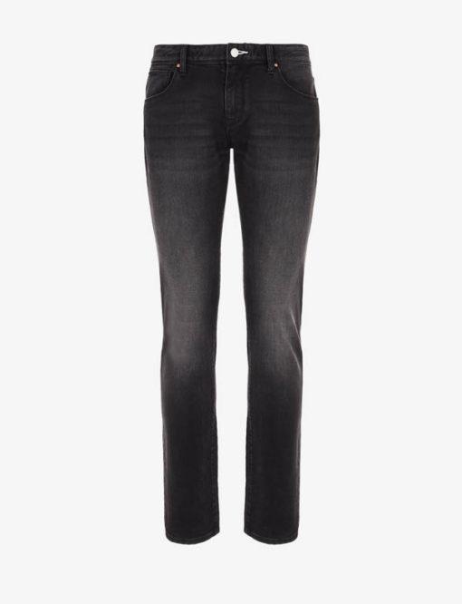 Jeans uomo nero Armani Exchange slim fit-3