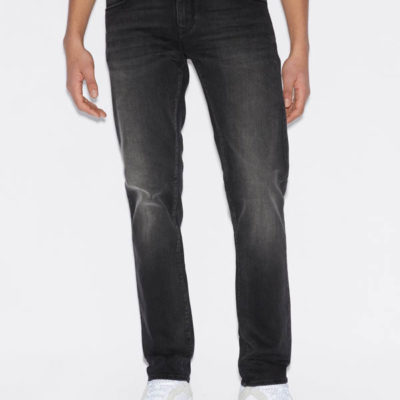Jeans uomo nero Armani Exchange slim fit