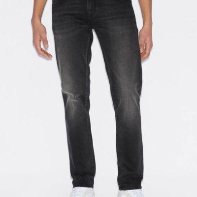 Jeans uomo nero Armani Exchange slim fit
