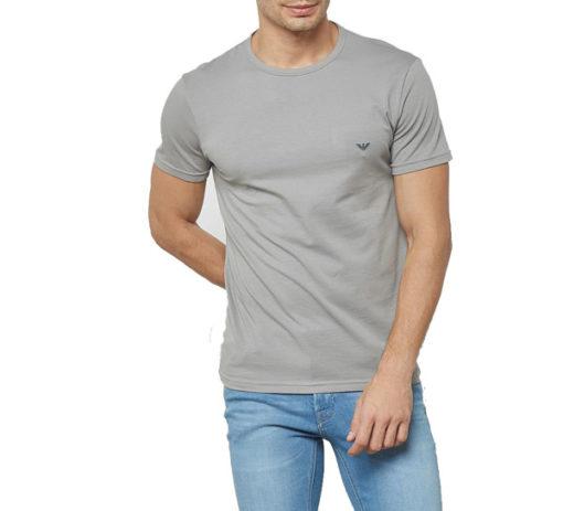 EMPORIO ARMANI t-shirt girocollo uomo con piccola aquila-3