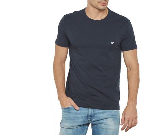 EMPORIO ARMANI t-shirt girocollo uomo con piccola aquila-1