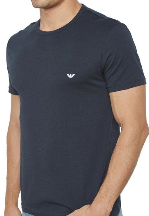 EMPORIO ARMANI t-shirt girocollo uomo con piccola aquila-5