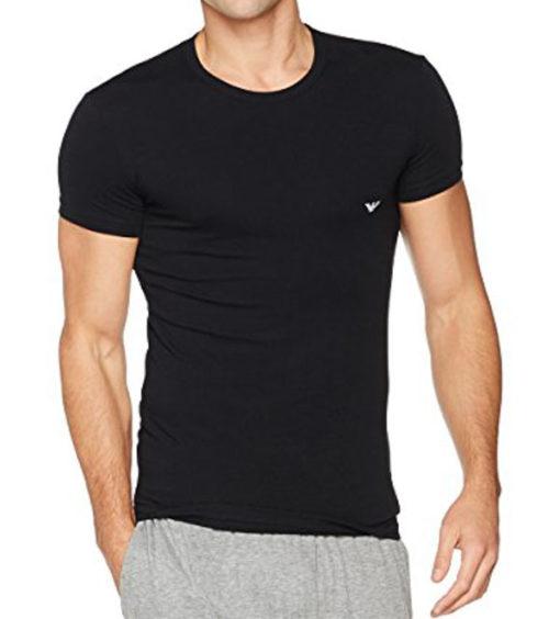 EMPORIO ARMANI t-shirt girocollo uomo con piccola aquila