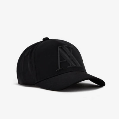 ARMANI EXCHANGE cappello da uomo nero