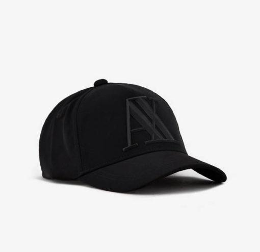 ARMANI EXCHANGE cappello da uomo nero