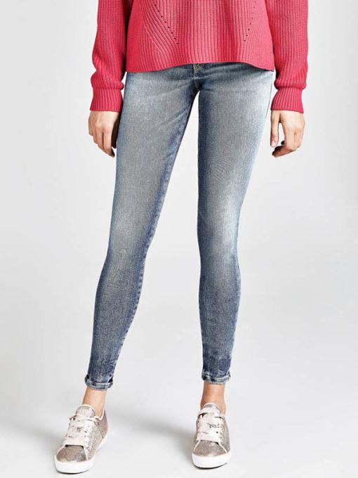 GUESS jeans donna elasticizzato con ricamo stella-4