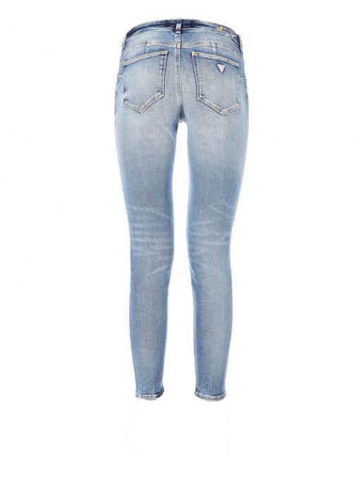 GUESS jeans donna elasticizzato con ricamo stella-2