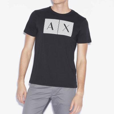 maglietta uomo Armani Exchange girocollo con logo