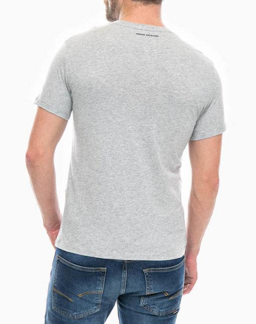 maglietta uomo Armani Exchange girocollo con logo-7