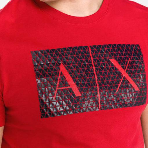 maglietta uomo Armani Exchange girocollo con logo-10