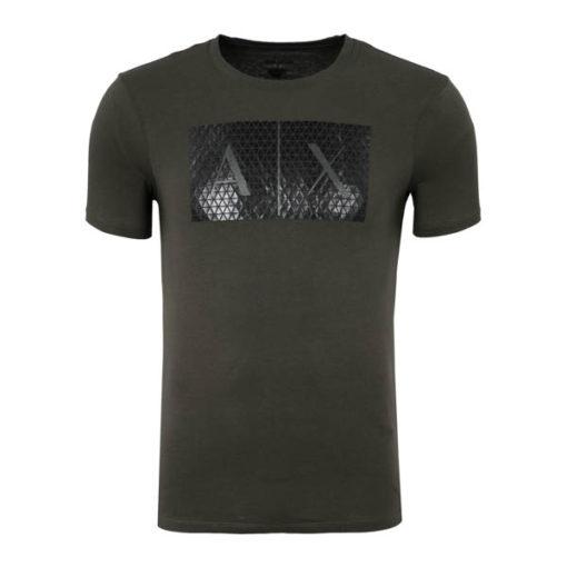 maglietta uomo Armani Exchange girocollo con logo-3