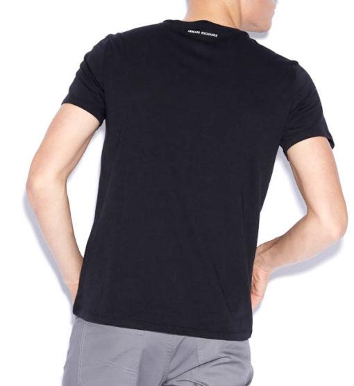 maglietta uomo Armani Exchange girocollo con logo-9