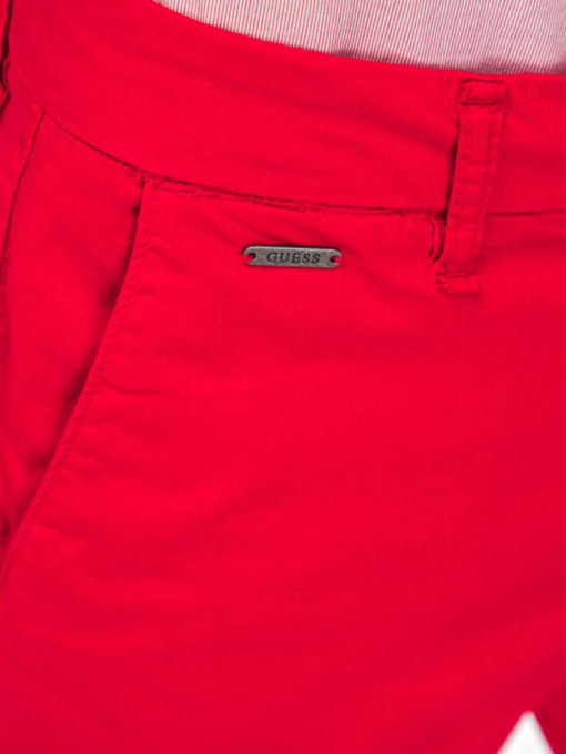GUESS pantaloncino in cotone stretch da uomo-5