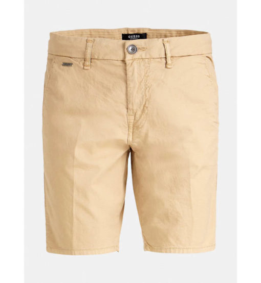 GUESS pantaloncino in cotone stretch da uomo-4