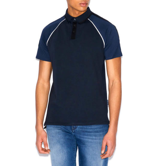 POLO BLU UOMO ARMANI EXCHANGE