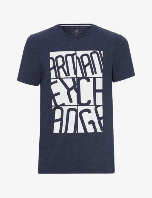 Maglietta uomo stampa Armani Exchange-6
