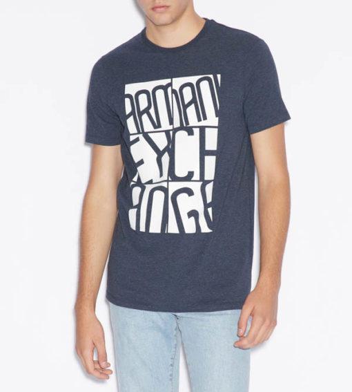 Maglietta uomo stampa Armani Exchange-1
