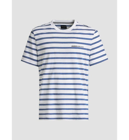 T-SHIRT GUESS UOMO RIGATA REGULAR FIT-3