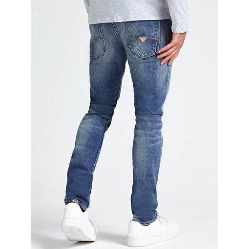 GUESS jeans strappato uomo modello slim-3