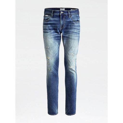 GUESS jeans strappato uomo modello slim-2