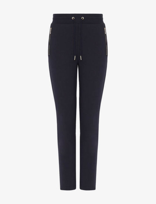 pantalone donna Armani Exchange sportivo con zip-3
