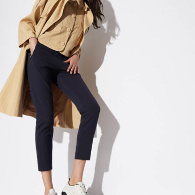 pantalone donna Armani Exchange sportivo con zip