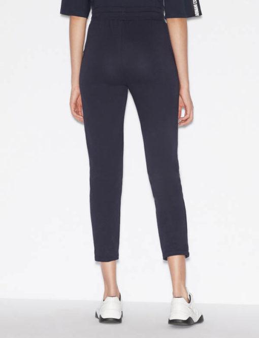 pantalone donna Armani Exchange sportivo con zip-4