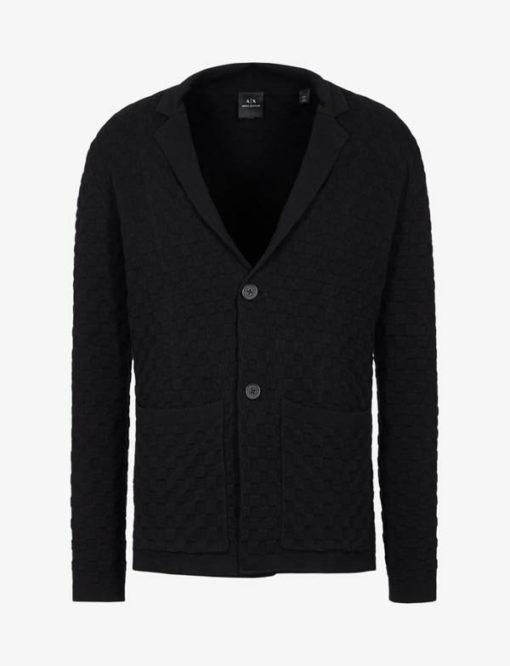 Giacca in maglia Armani Exchange da uomo-3