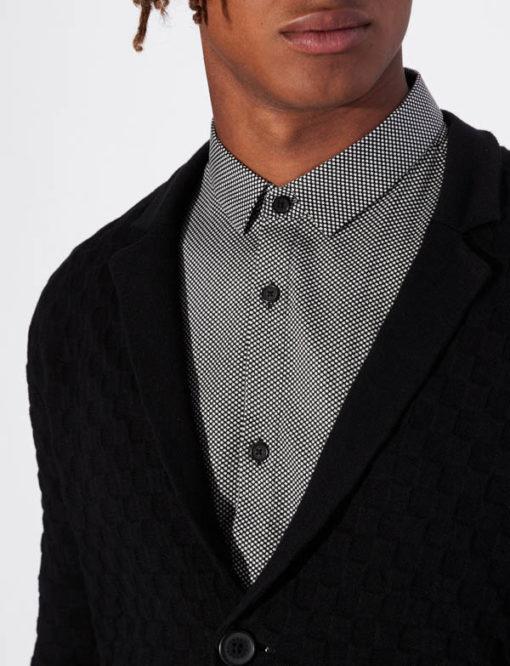 Giacca in maglia Armani Exchange da uomo-2