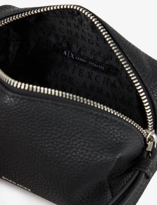 Armani Exchange beauty case nero donna-1